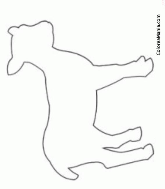 Colorear silueta cabrita animales de granja dibujo para - Siluetas para imprimir ...