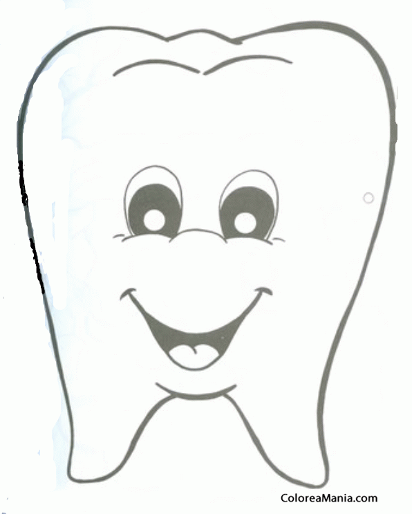 Dibujo para colorear de Olaf de la película de Disney Frozen