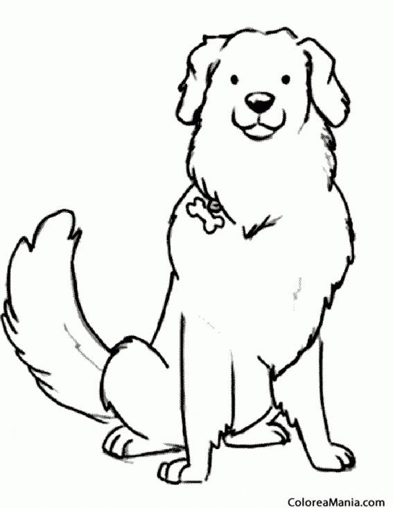 Excepcional Perro Gratis Para Colorear Ideas - Ideas Para Colorear ...