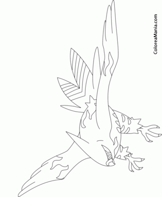 pokemon coloring pages talonflame xy - photo#5