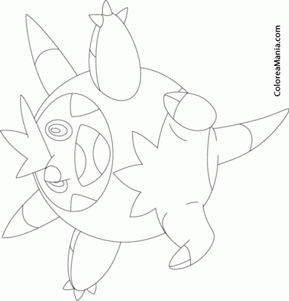 Quilladin Generation Vi Pokemon Watch V Cpaexn7aog8 Coloring Pages Sketch Templates