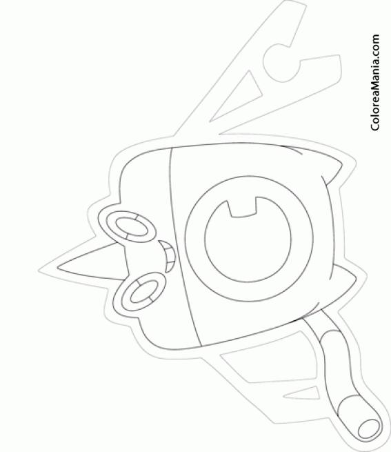Colorear Rotom, agua. Generation IV Pokemon (Pokemon), dibujo para ...