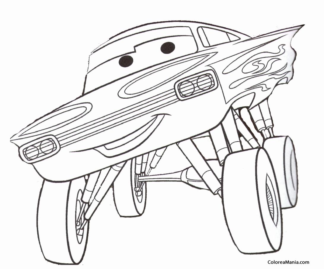 Dibujos Para Colorear Rayo Mcqueen En Linea Dibujos De: Dibujos De Personajes De Cars Para Imprimir