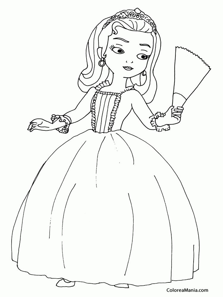 Imagenes Para Colorear De Princesas Para Imprimir