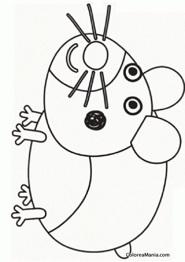 Colorear Mascota Ben Y Holly Dibujo Para Colorear Gratis