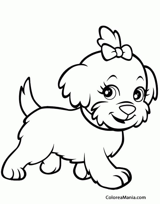 Colorear Perrita de Polly Pocket Polly Pocket dibujo para