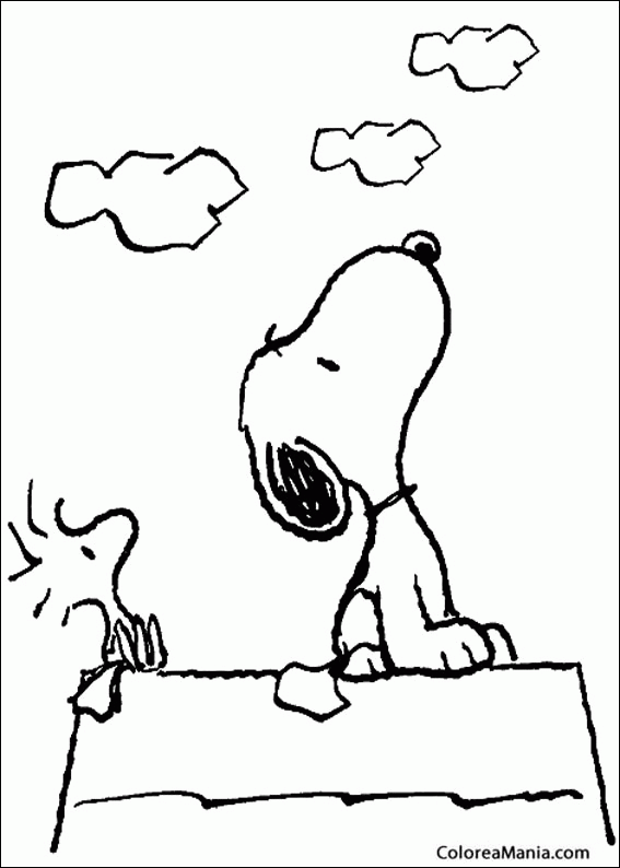 Colorear Http Www Colorear Net Dibujos Snoopy Snoopy 39 Jpg Carlitos Y Snoopy Dibujo Para Colorear Gratis