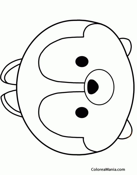 Colorear Chip Tsum Tsum Dibujo Para Colorear Gratis