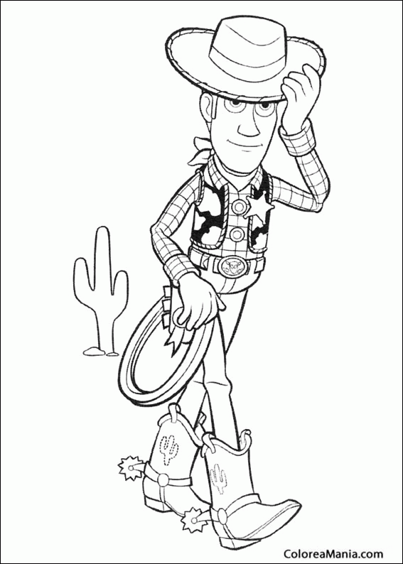 Woody Cowboy Coloring Pages, Toy Story Woody Coloring Pages - AZ ...