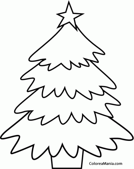 1bc80c23e6e69 ... para imprimir gratis. 250 visitas 0 impresionesImprimir Dibujo. Colorear  Árbol de Navidad 3