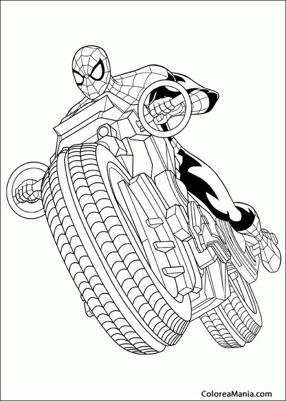 Dibujos Para Colorear Spiderman
