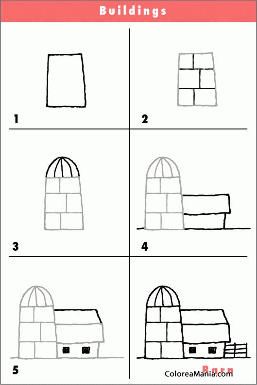 Colorear Cómo Dibujar Un Iglú Cómo Dibujar Casas Y