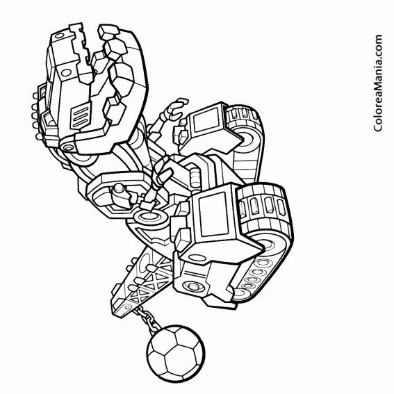 Colorear Dinotrux (dinoxtrux), dibujo para colorear gratis