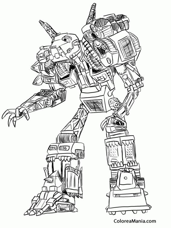 Colorear Dinotrux 4 (dinoxtrux), dibujo para colorear gratis