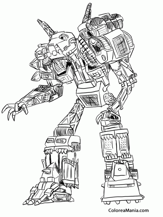 Dinotrux Coloring Pages Sketch Coloring Page