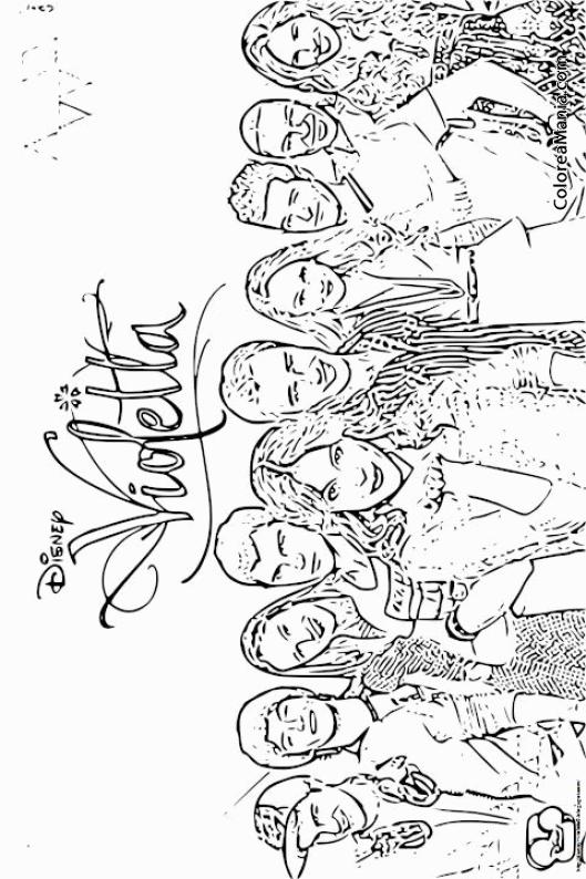 Colorear Violetta 3 Violetta Dibujo Para Colorear Gratis