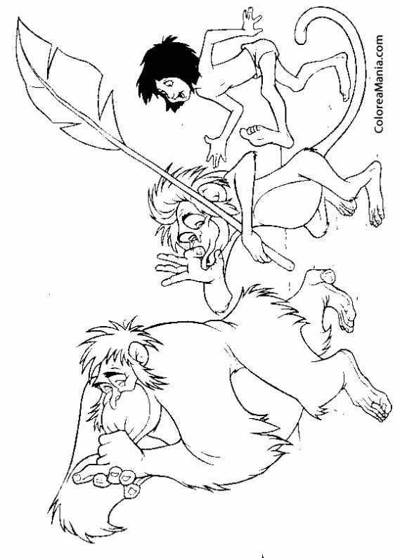 Fantástico Mowgli Para Colorear Bandera - Ideas Para Colorear ...
