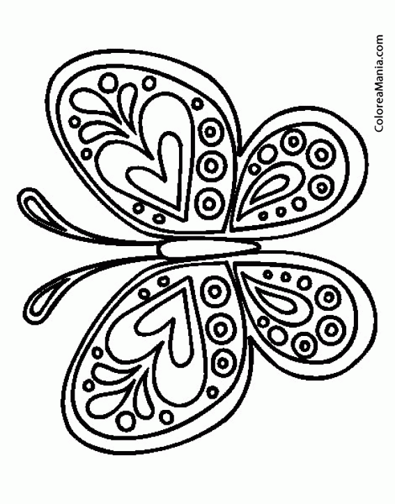 Dibujos Para Pintar Mariposas Gratis Imagenes Mariposas Gratis Para