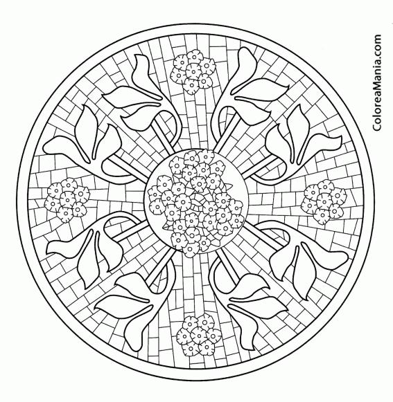 Mosaicos De Flores. Amazing Sob Consulta Flores Em Mosaico With ...