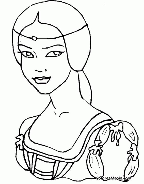 Colorear Hestia Hermana De Zeus Mitología Griega Dibujo Para