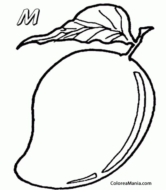 Dibujos Para Colorear Frutas. Frutas Y Verduras En Dibujos ...