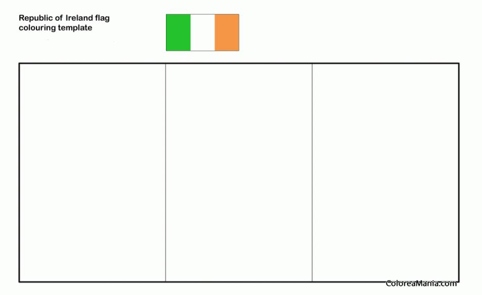 Perfecto Irlanda Para Colorear Cresta - Ideas Para Colorear ...