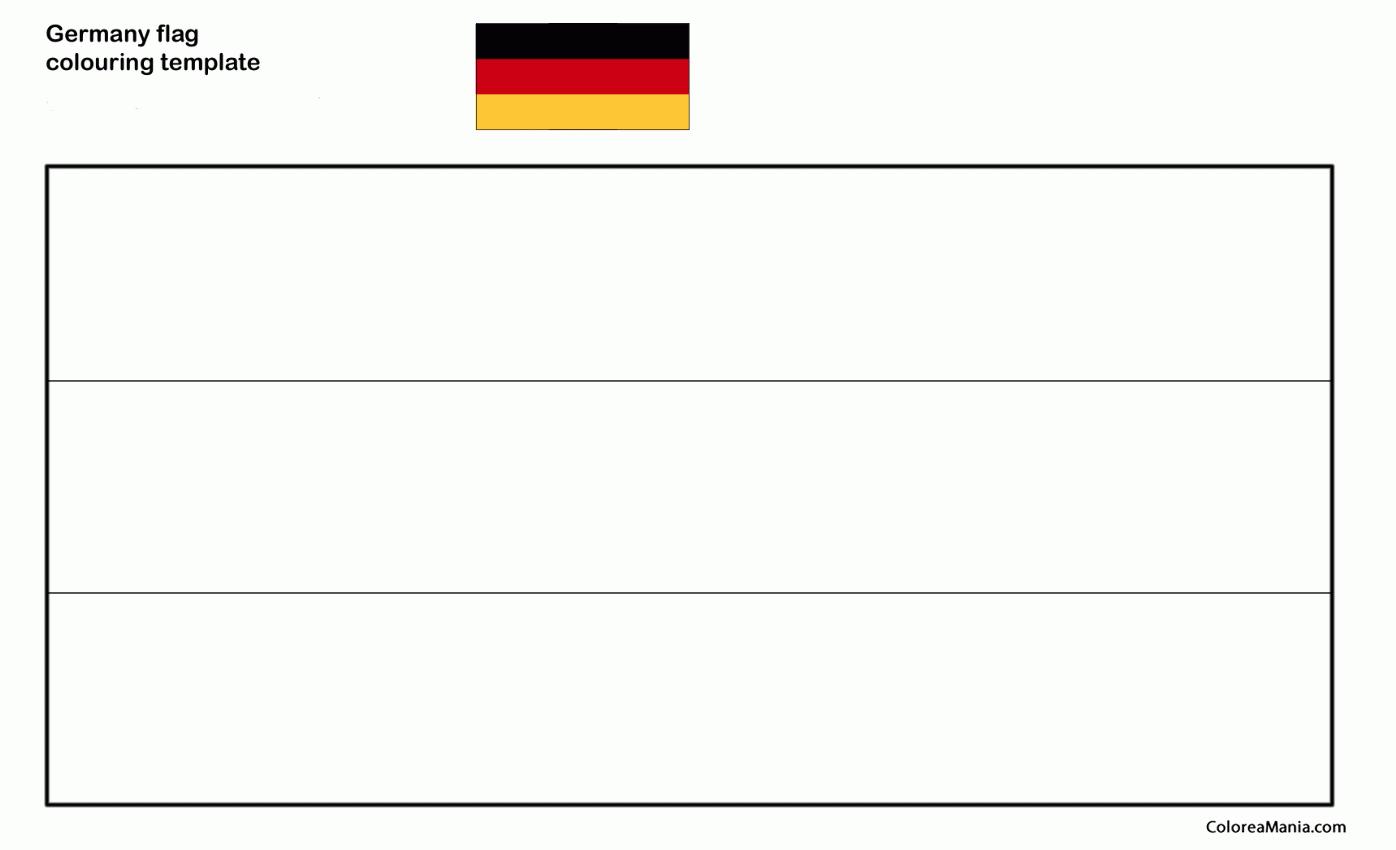 Colorear Alemania. Germany (Banderas de paises), dibujo para ...