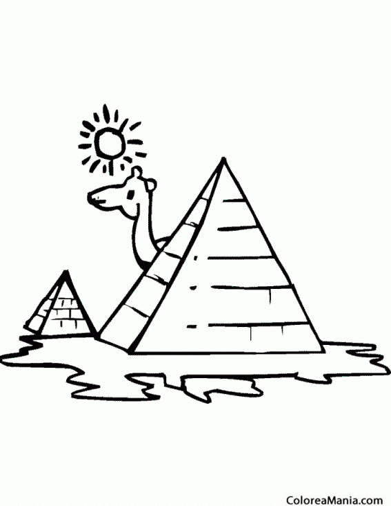 Incre ble colorear pir mide imagen ideas para colorear - Piramide alimenticia para ninos para colorear ...