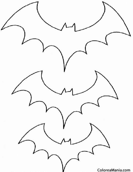 Dibujo Para Colorear Murciélago Img 20680