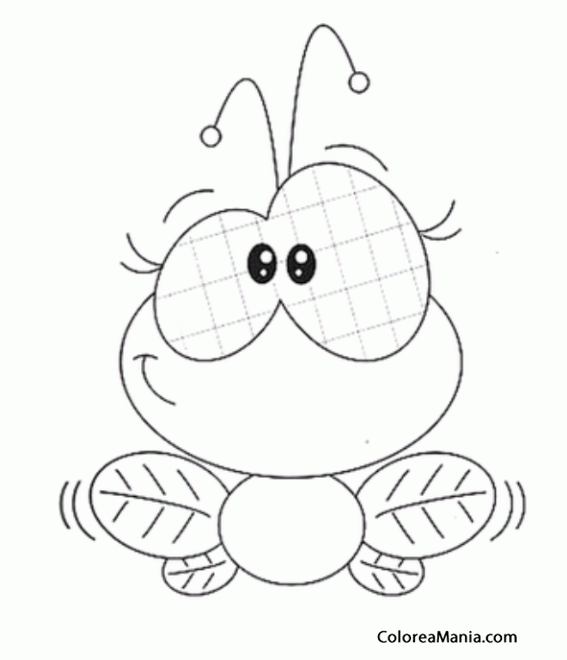 house fly coloring pages - photo #19