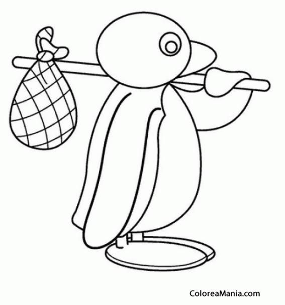Perfecto Pingu Para Colorear Bosquejo - Ideas Para Colorear ...